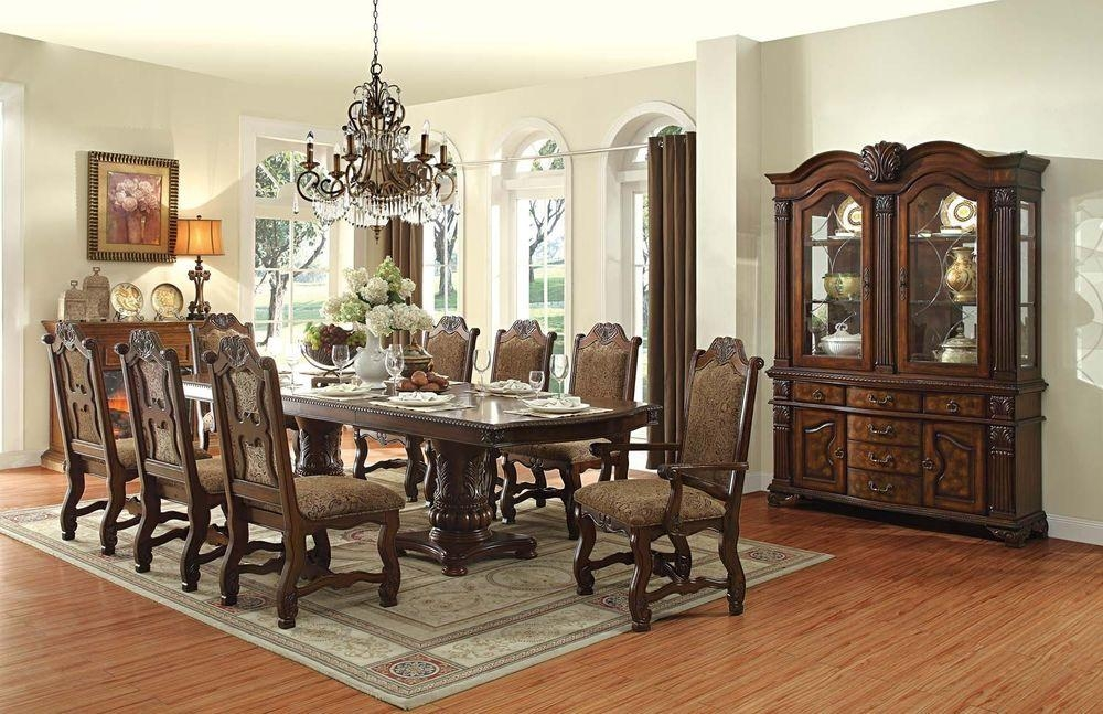 10 Seat Dining Table Design Ideasfurniture Design With Regard To 10 Seater Dining Tables And Chairs (Image 2 of 20)
