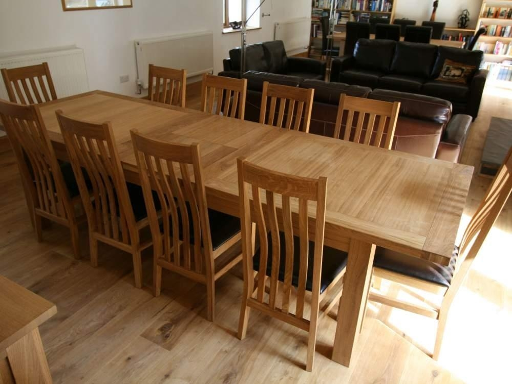 10 Seat Round Dining Table Size Dining Room Table Size For 10 Intended For 10 Seat Dining Tables And Chairs (View 10 of 20)
