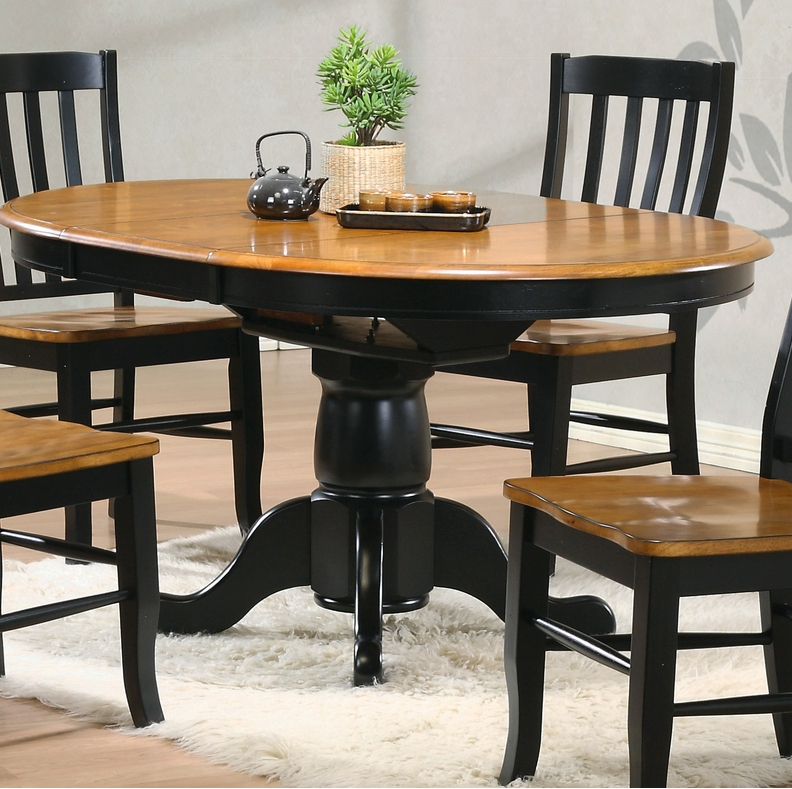 10 Single Pedestal Round Dining Tables – Cute Furniture Regarding Marbella Dining Tables (Image 1 of 20)