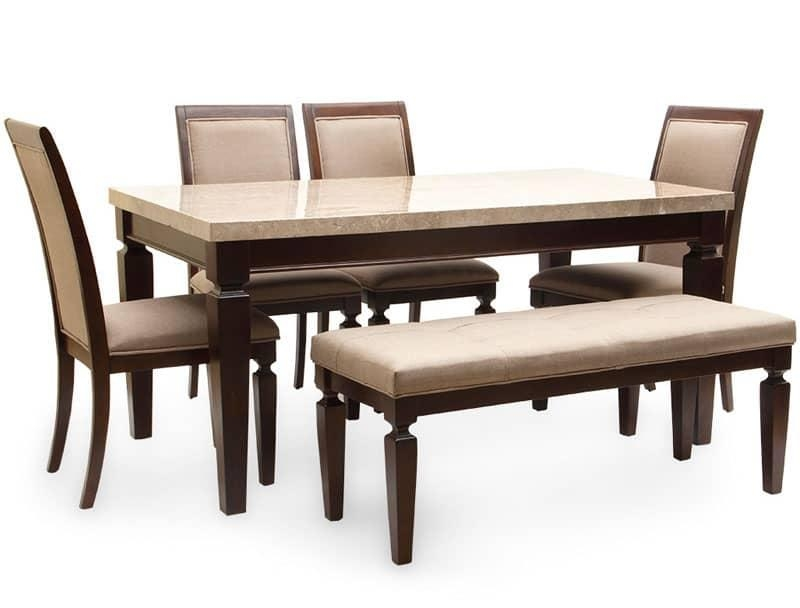 10 Trending Dining Table Models You Should Try Intended For Six Seater Dining Tables (Image 1 of 20)