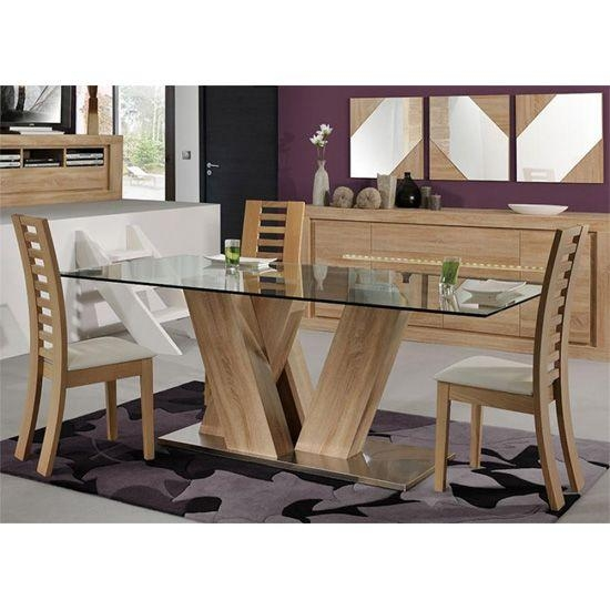 100 Best 4 Seater Glass Dining Sets Images On Pinterest | Dining Pertaining To Glass 6 Seater Dining Tables (Image 1 of 20)