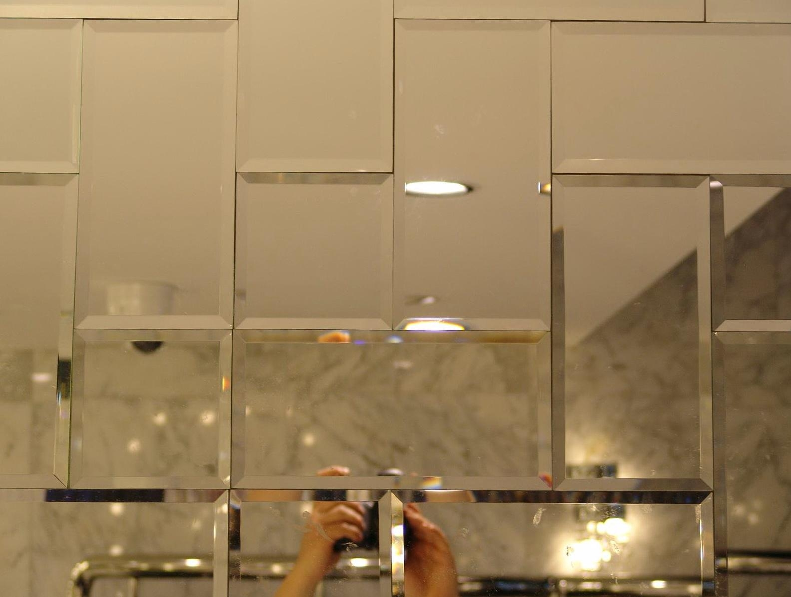 1000 Ideas About Mirror Walls On Pinterest Wall Mirror Design Throughout Small Bevelled Mirror (View 9 of 20)