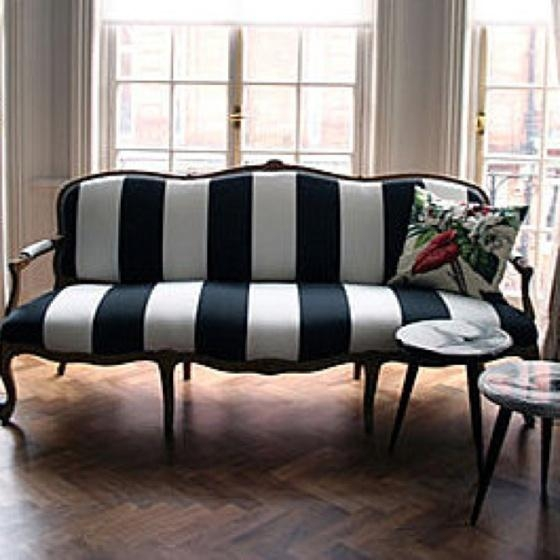 105 Best Sofas Images On Pinterest | Sofas, Diapers And Tufted Sofa With Blue And White Striped Sofas (Image 2 of 20)