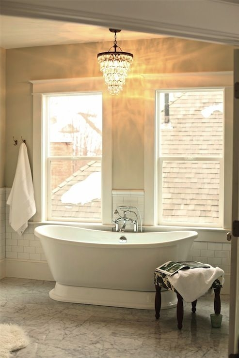 107 Best Master Bath Images On Pinterest Intended For Wall Mounted Bathroom Chandeliers (Image 1 of 25)
