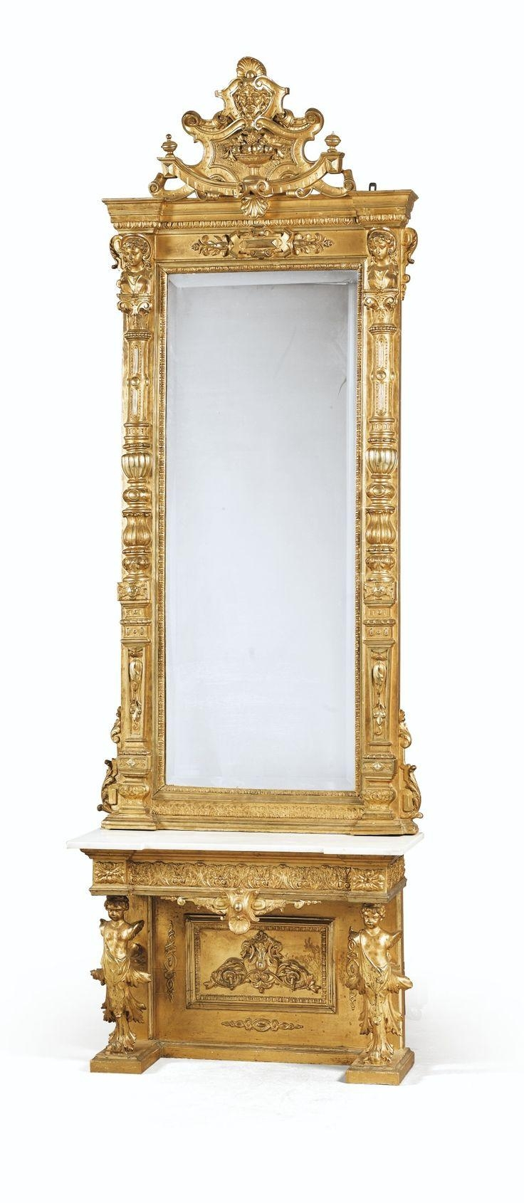 1091 Best Classic Gilded Mirrors Images On Pinterest | Antique In Victorian Style Mirrors (View 10 of 20)