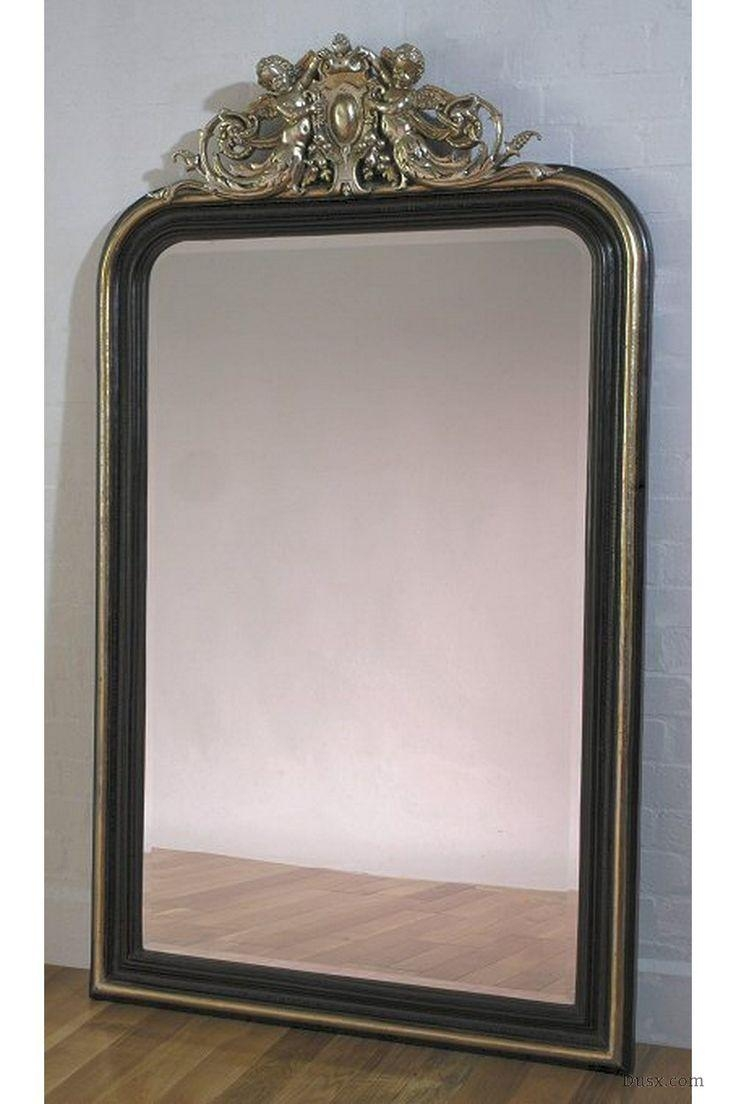 110 Best What Is The Style – French Rococo Mirrors Images On Intended For French Floor Mirror (Image 1 of 20)