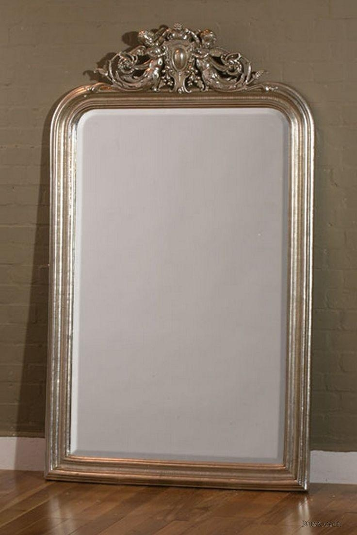 110 Best What Is The Style – French Rococo Mirrors Images On Pertaining To French Floor Mirror (Image 2 of 20)