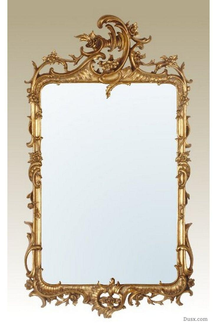 110 Best What Is The Style – French Rococo Mirrors Images On Pertaining To Gold Rococo Mirror (Image 2 of 20)