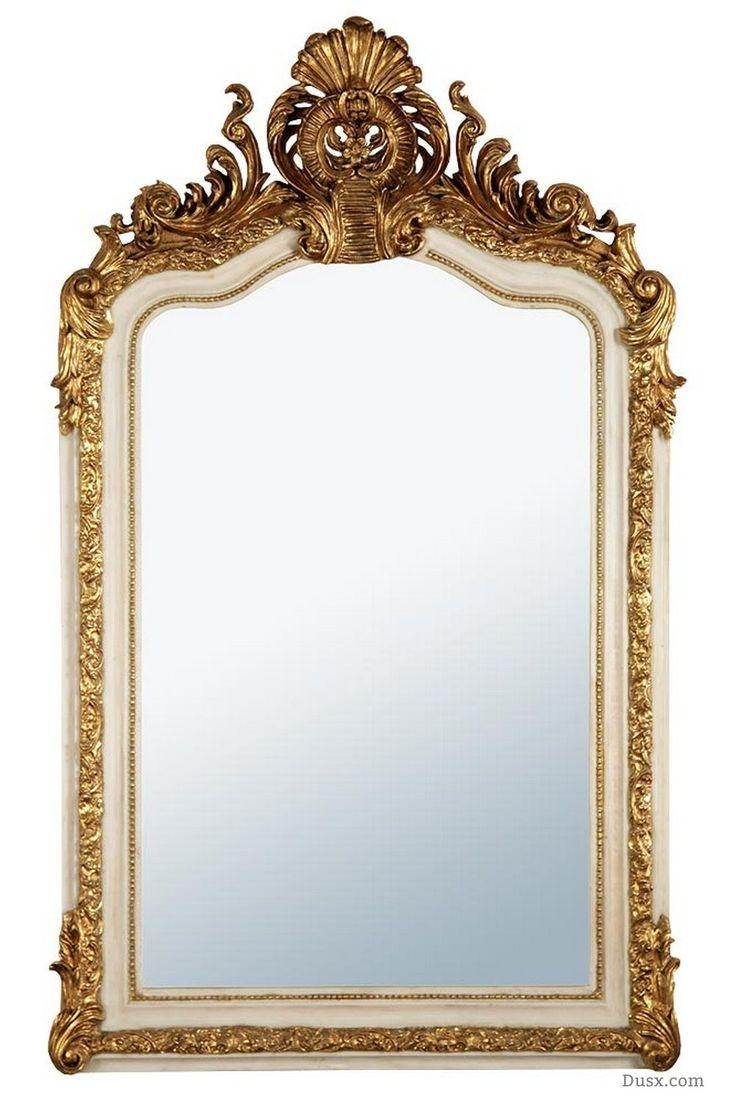 110 Best What Is The Style – French Rococo Mirrors Images On Regarding White French Mirrors (Image 3 of 20)