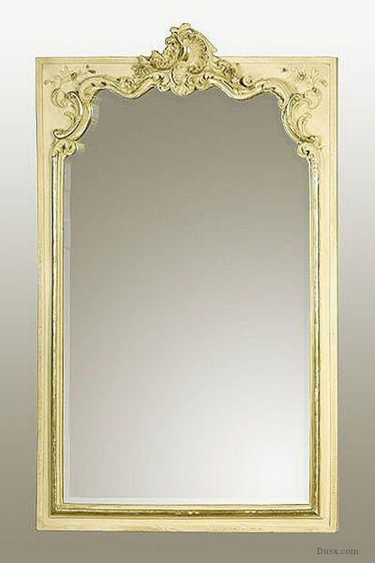 110 Best What Is The Style – French Rococo Mirrors Images On Throughout Cream Mirrors (View 9 of 20)