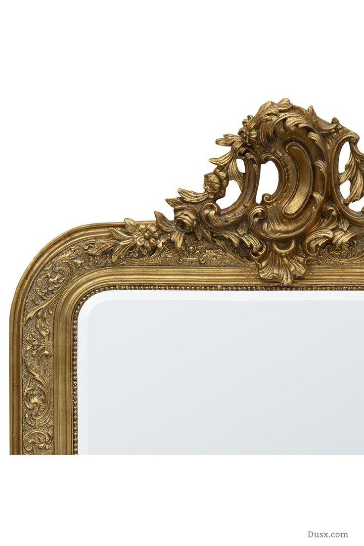 110 Best What Is The Style – French Rococo Mirrors Images On Throughout Rococo Mirror Gold (Image 4 of 20)