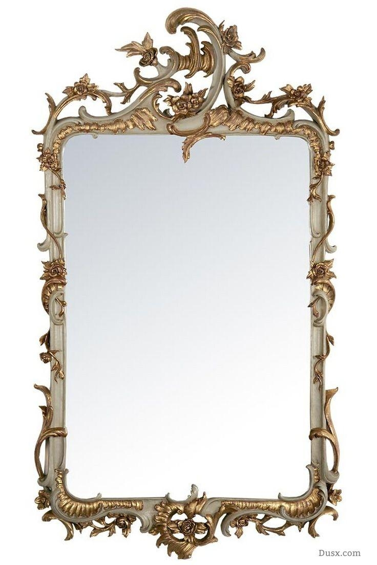 110 Best What Is The Style – French Rococo Mirrors Images On With French Rococo Mirror (Image 2 of 20)