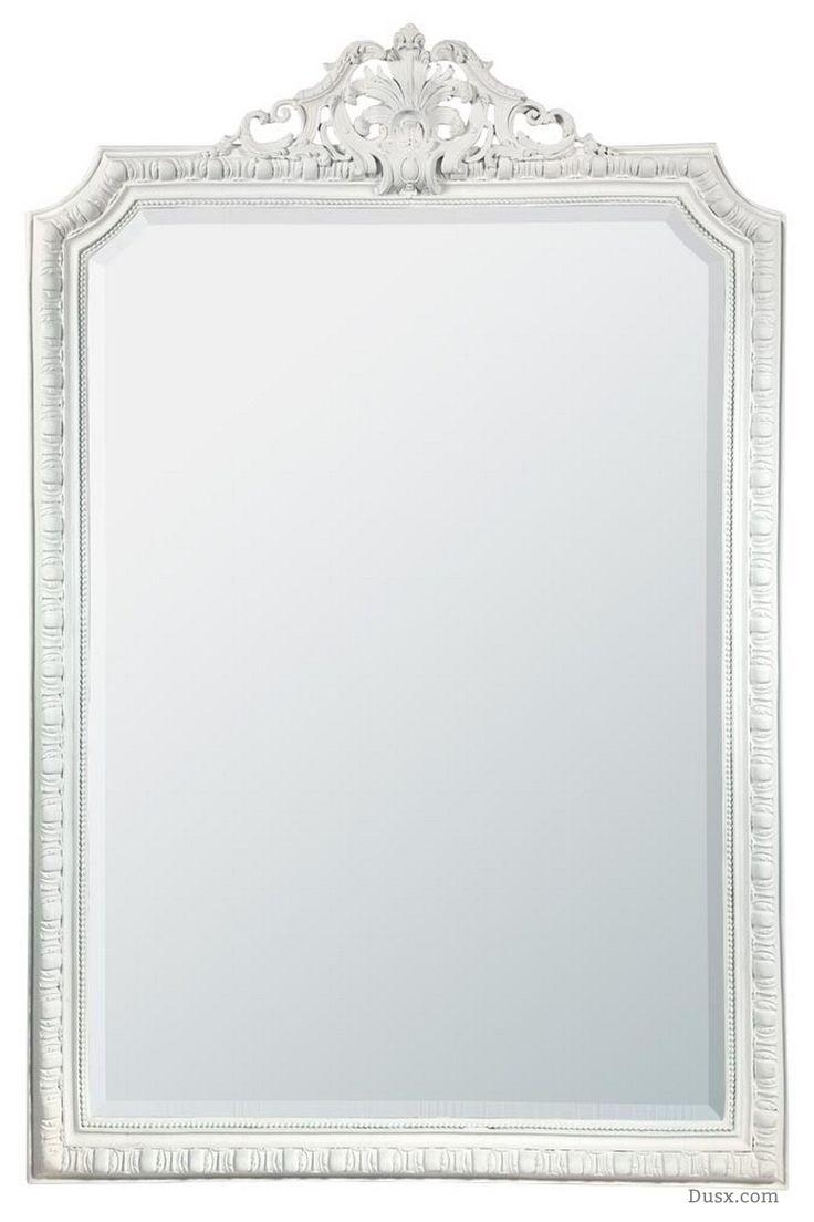 110 Best What Is The Style – French Rococo Mirrors Images On With Regard To French Shabby Chic Mirror (Image 1 of 20)