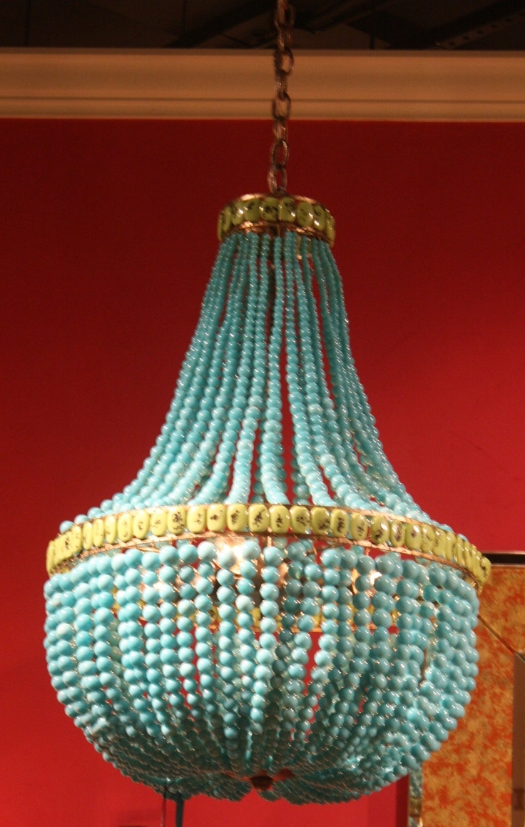 111 Best Diy Chandelier Lighting Ideas Images On Pinterest With Regard To Turquoise And Gold Chandeliers (View 5 of 13)