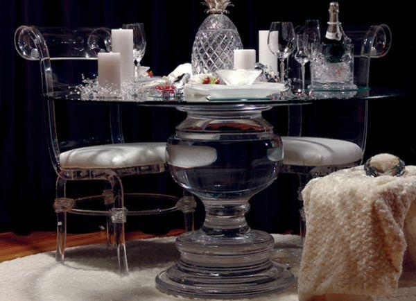 114 Best Acrylic Home Images On Pinterest | Architecture, Acrylic Inside Acrylic Round Dining Tables (Image 1 of 20)