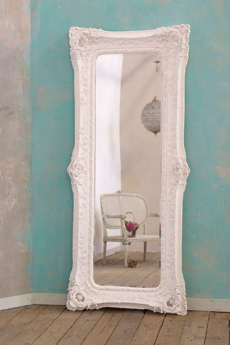 118 Best Wedding Decor & Inspiration From Dusx Images On Pinterest With White Baroque Floor Mirror (Image 1 of 20)