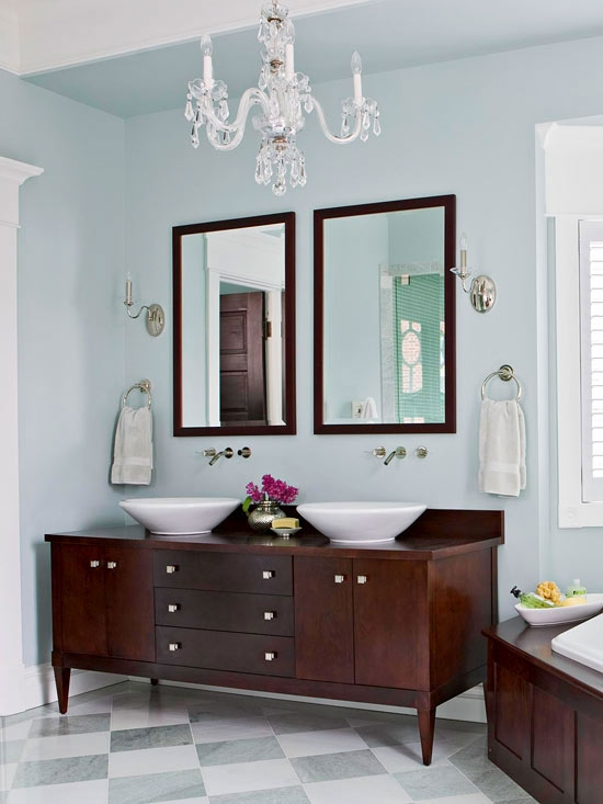 12 Bathroom Lighting Ideas Regarding Crystal Chandelier Bathroom Lighting (Image 4 of 25)