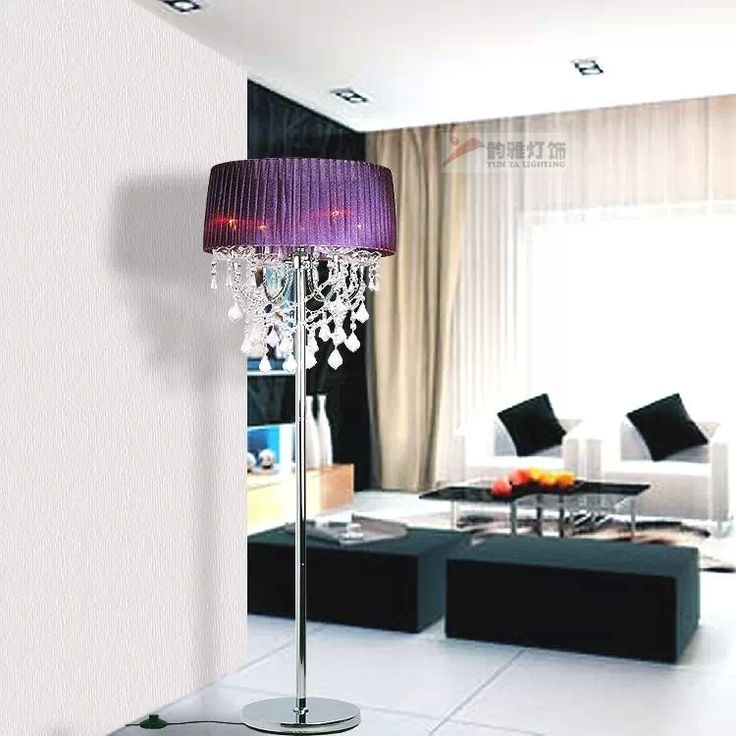 12 Best Selecting The Best Chandelier Floor Lamp For The House Regarding Crystal Chandelier Standing Lamps (Image 1 of 25)