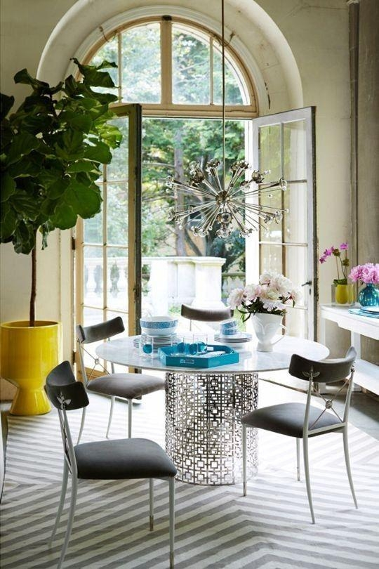 123 Best Dining In Images On Pinterest | Vogue Living, House Tours Intended For Vogue Dining Tables (View 14 of 20)