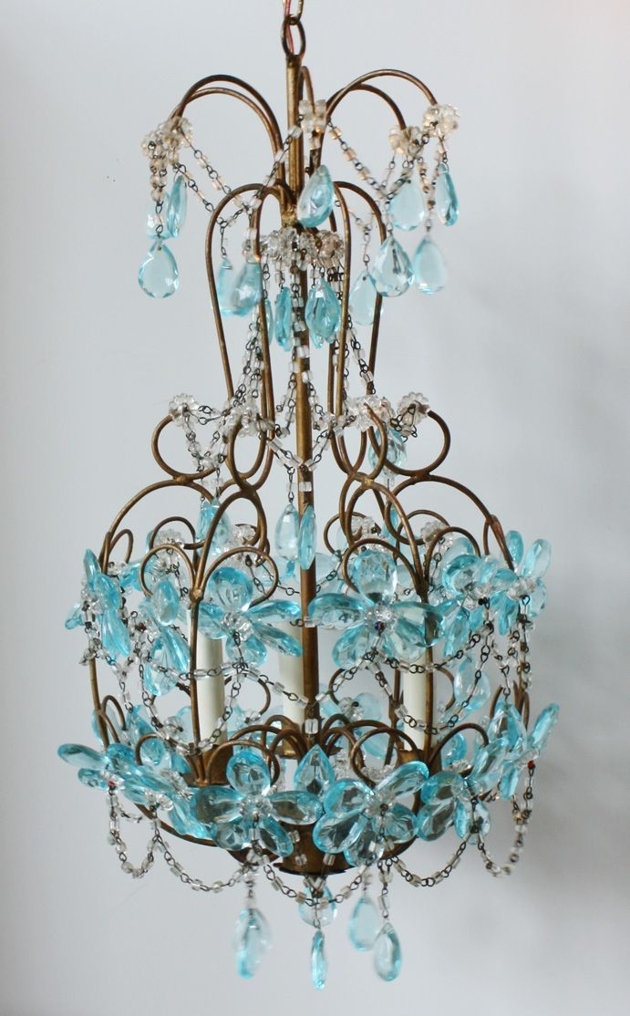 128 Best Glamorous Lighting Images On Pinterest With Regard To Turquoise Color Chandeliers (View 19 of 25)