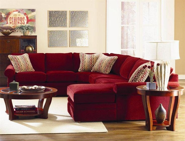129 Best Red Couch Images On Pinterest | Living Room Ideas, Red With Black And Red Sofa Sets (Image 1 of 20)