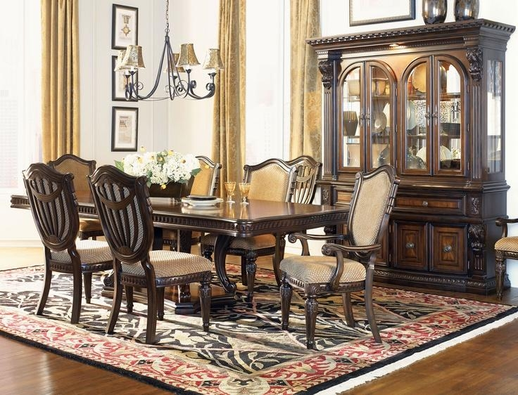 131 Best Dining Spaces Images On Pinterest | Dining Room Sets With Traditional Dining Tables (View 4 of 20)