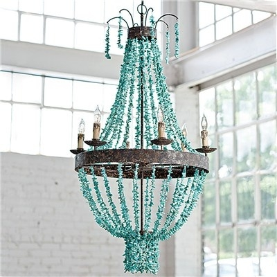 135 Best Luminosity Images On Pinterest In Turquoise Gem Chandelier Lamps (Image 2 of 25)