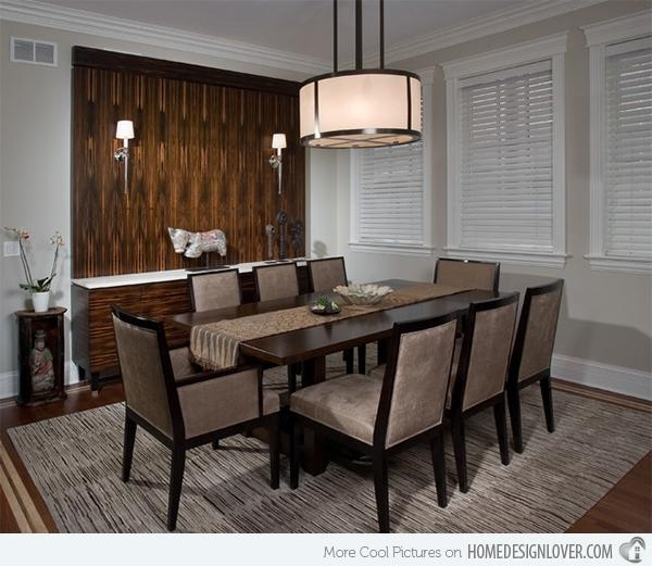 15 Asian Inspired Dining Room Ideas | Home Design Lover Inside Asian Dining Tables (Image 1 of 20)