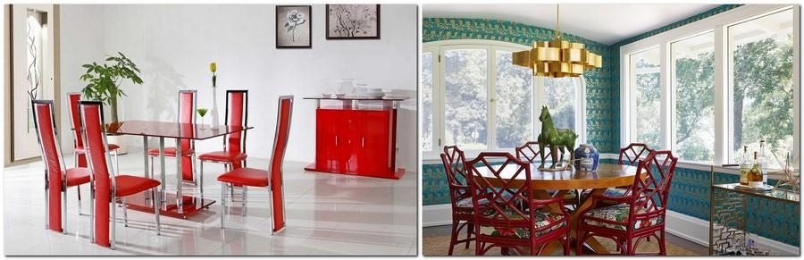 15 Reasons To Have Red Dining Chairs | Home Interior Design Throughout Red Dining Tables And Chairs (Image 3 of 20)