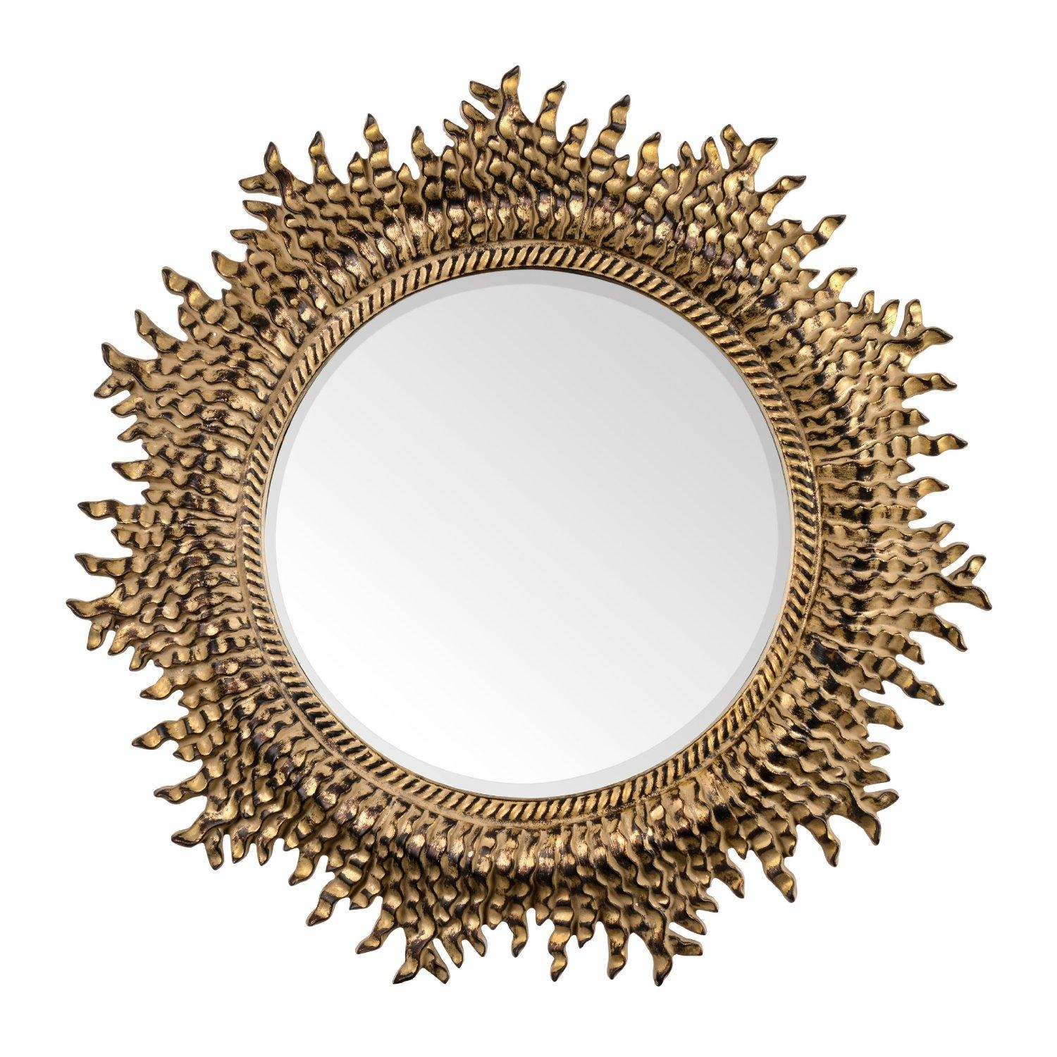 16 Ornate Mirrors For Your Home | Qosy In Gold Round Mirrors (Image 1 of 20)