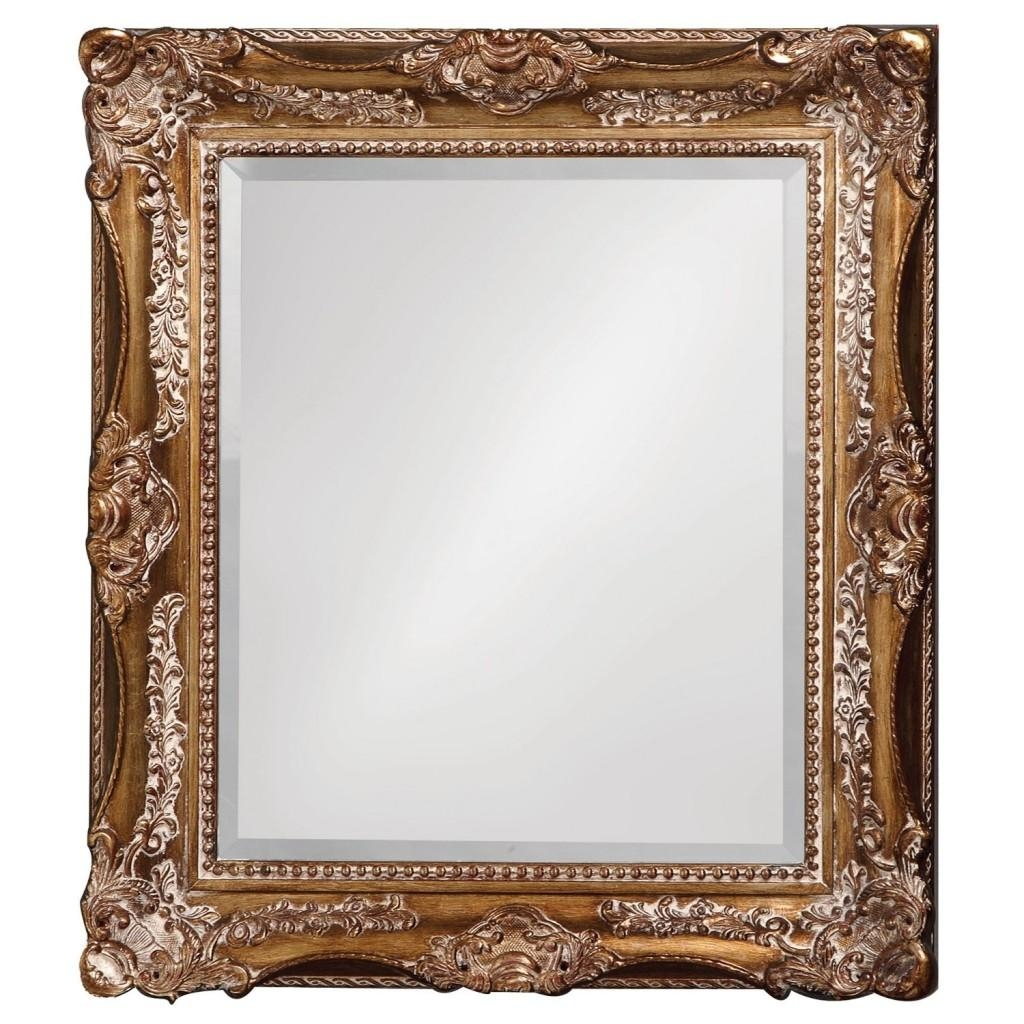16 Ornate Mirrors For Your Home | Qosy Pertaining To Glitter Frame Mirror (Image 1 of 20)