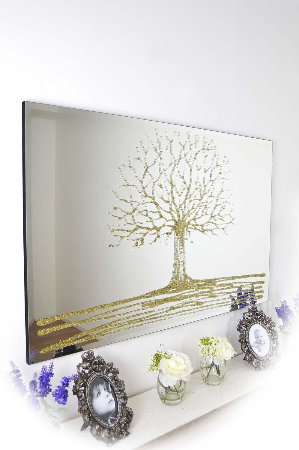 16 Ornate Mirrors For Your Home | Qosy Throughout Liquid Glass Mirrors (Image 1 of 20)