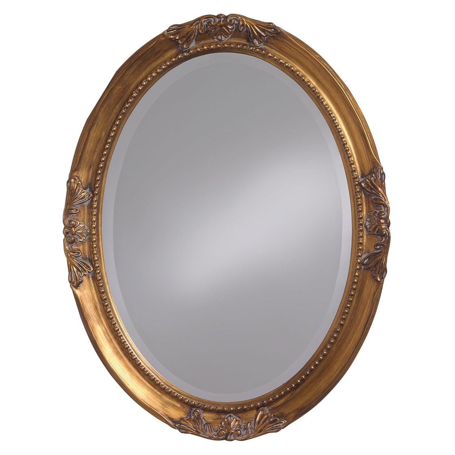 16 Ornate Mirrors For Your Home | Qosy With Gold Round Mirrors (Image 2 of 20)