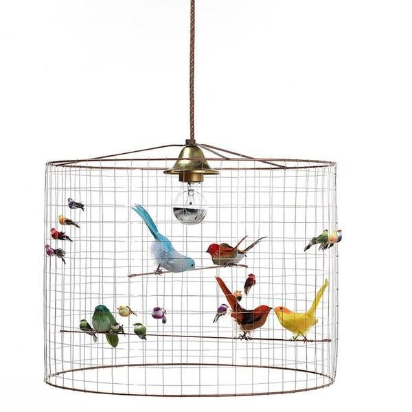 17 Best Bird Cage Chandelier La Volire Lighting Images On Pinterest Intended For Turquoise Birdcage Chandeliers (View 18 of 25)