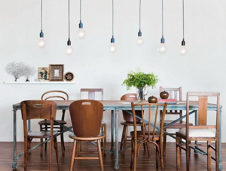 17 Best Lighting Images On Pinterest | Lighting Ideas, Bulb Lights In Lamp Over Dining Tables (Image 1 of 20)