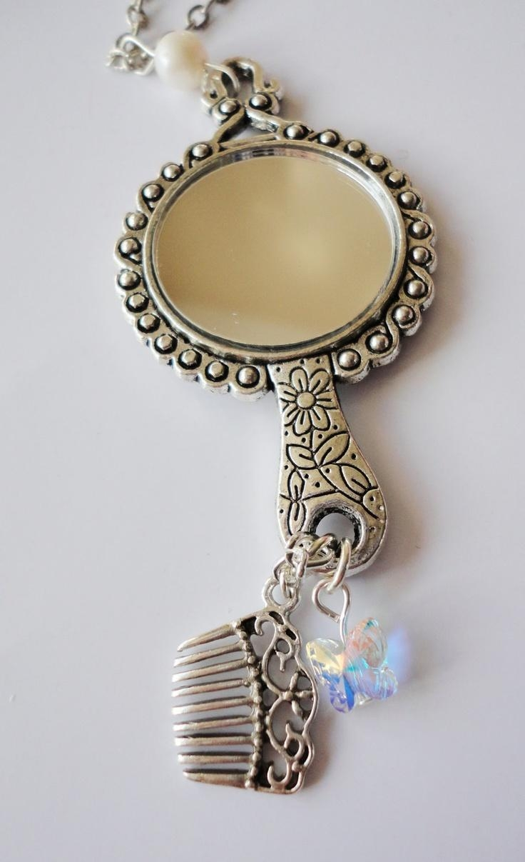 171 Best Hand Mirrors, Big, Small, Old & New Images On Pinterest For Small Silver Mirrors (View 15 of 20)