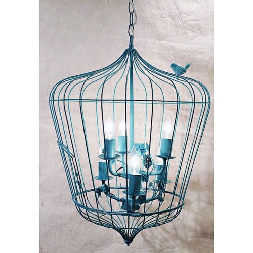 Featured Image of Turquoise Birdcage Chandeliers