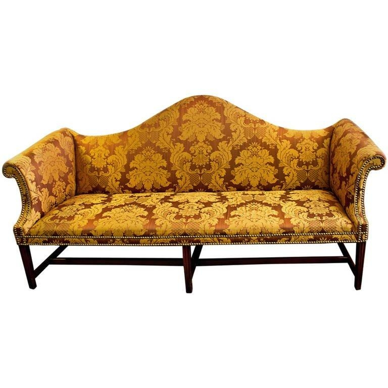 18Th Century American Chippendale Camelback Sofa For Sale At 1Stdibs Within Chippendale Camelback Sofas (Image 1 of 20)