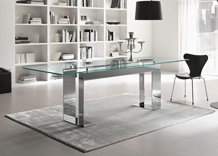 19 Best Dining Table Images On Pinterest | Glass Tables, Dining With Chrome Dining Tables (View 8 of 20)