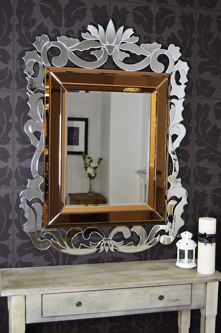 191 Best Mirrors Images On Pinterest | Mirrors, Mirror Mirror And Within French Style Wall Mirror (Image 1 of 20)