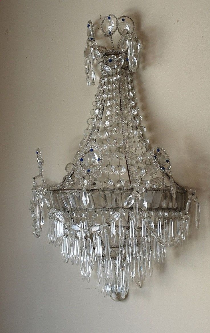193 Best Chandeliers Sconces Lanterns Lamps Images On Pinterest Intended For Wall Mounted Chandeliers (Image 1 of 25)