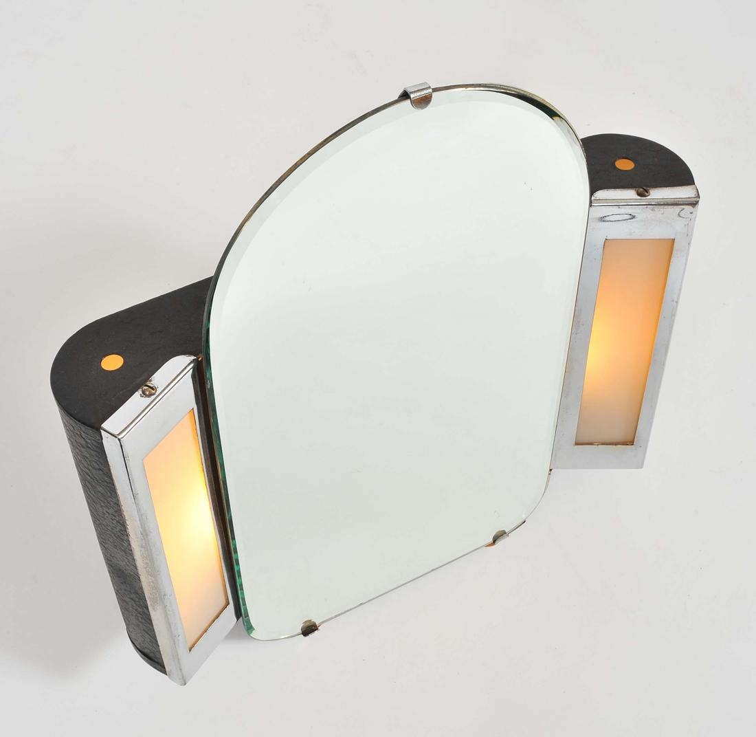 1930S Us Art Deco Illuminated Dressing Table Mirror | Valerie Wade In Illuminated Dressing Table Mirror (View 16 of 20)