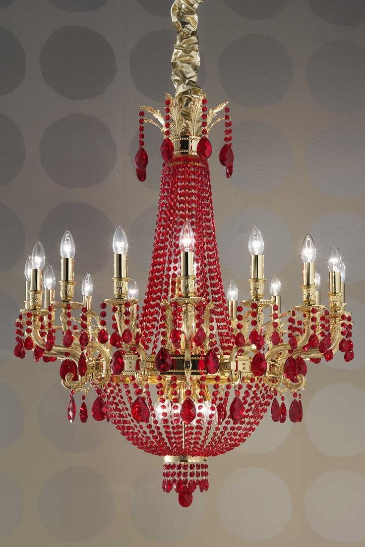 194 Best Crystal Chandeliers Images On Pinterest Within Sparkly Chandeliers (Image 1 of 25)