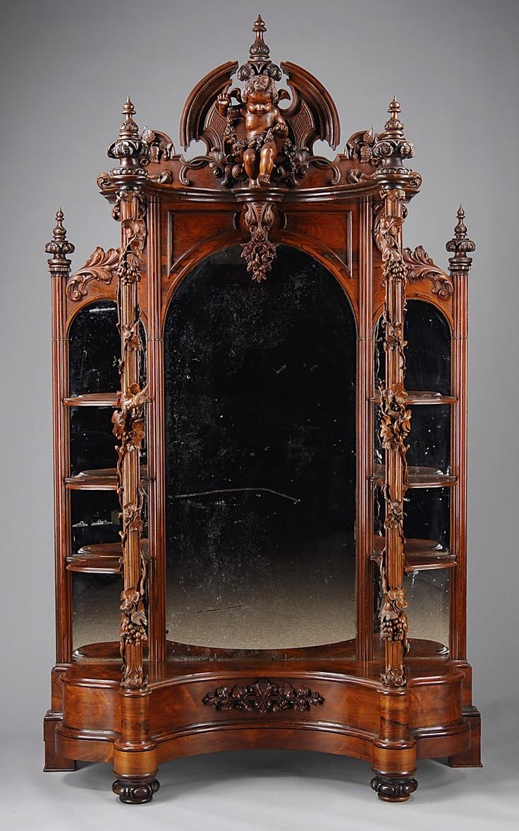 195 Best Furniture Images On Pinterest | Antique Furniture Pertaining To Gothic Style Mirror (View 8 of 20)