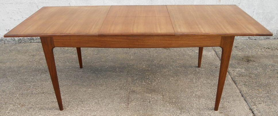 1960 S Retro Teak Extending Dining Table To Seat Eight – Sold In Retro Extending Dining Tables (View 6 of 20)