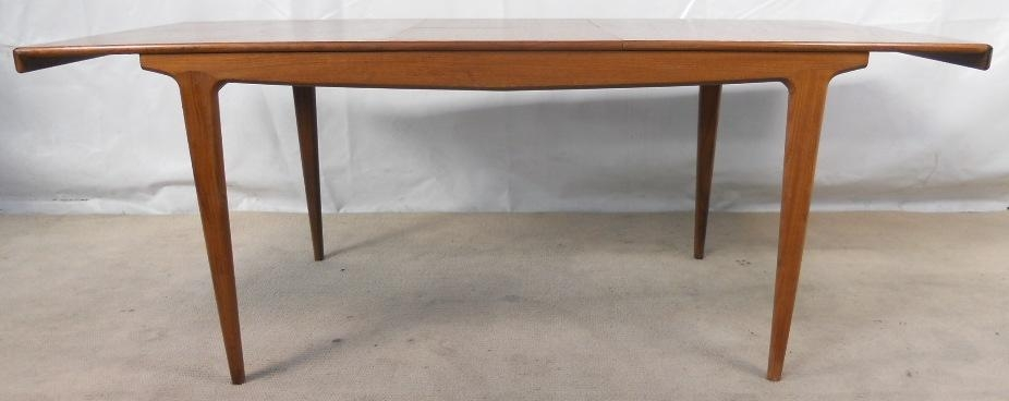 1960 S Retro Teak Extending Dining Table To Seat Ten – Sold Pertaining To Retro Extending Dining Tables (View 18 of 20)