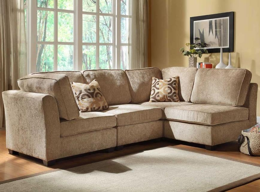 2 Bedroom Bath Ashley Furniture Sectional Microfiber | Home Design Intended For Ashley Furniture Brown Corduroy Sectional Sofas (Image 1 of 20)