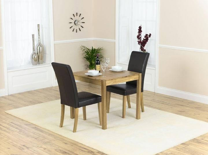 2 Chair Dining Table With Two Chair Dining Tables (View 11 of 20)