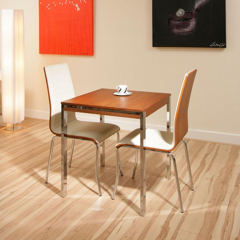 2 Person Dining Table And Chairs #5175 Within Small Two Person Dining Tables (Image 2 of 20)