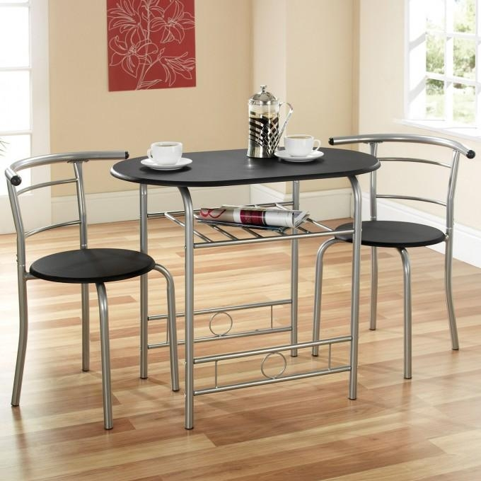 2 Seat Dining Table And Chairs | Ciov Inside Two Seater Dining Tables And Chairs (Image 1 of 20)